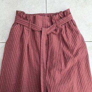 Stripped Linen Pants
